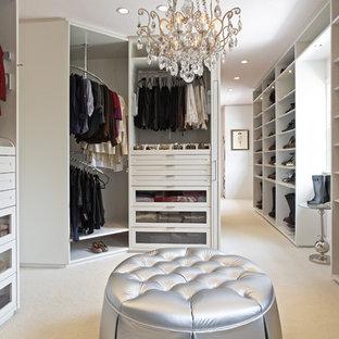 Trendy closet photo in Los Angeles