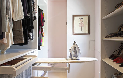 Out of Sight: Smart Solutions to Store Your Ironing Board