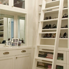 Contemporary Closet by The Design Atelier