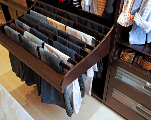 Hanging Pants Home Design Ideas, Pictures, Remodel and Decor