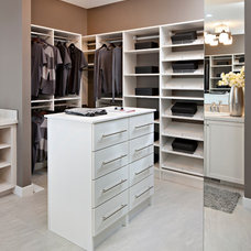Traditional Closet by Cardel Designs