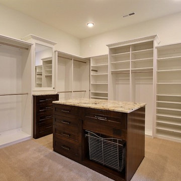 The Master Closet - The Genesis - Family Super Ranch with Daylight Basement