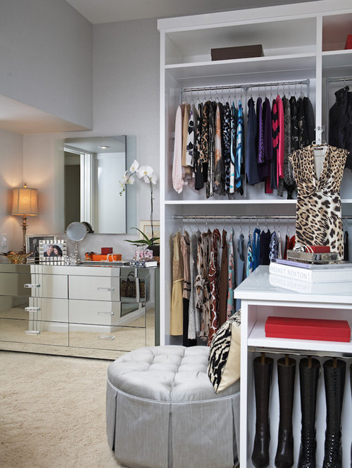 Transitional Dressing Room Idea In Los Angeles