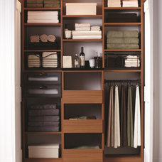 Contemporary Closet by California Closets New England