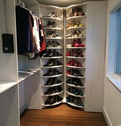 Shoe Rack Closet System The Revolving Closet Organizer
