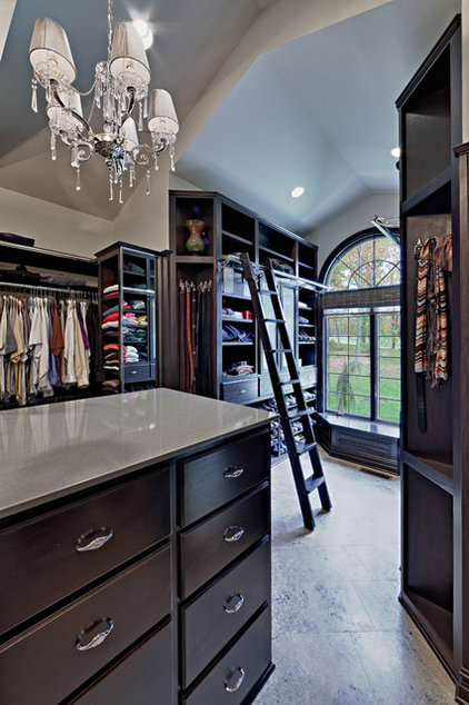 Traditional Closet by Todd Michael Builder Developer, Inc