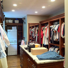 Traditional Closet by Monarch Renovations