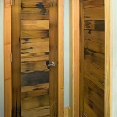 Contemporary Closet by New Energy Works Timberframers