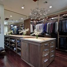 Contemporary Closet by Saya Couture & Decor