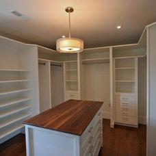 Traditional Closet by Amanda Greaves & Company