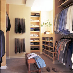 contemporary closet by Tomar Lampert Associates