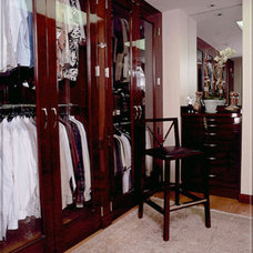 Traditional Closet by Tomar Lampert Associates
