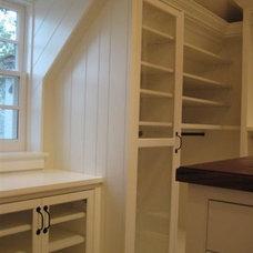 Contemporary Closet by John Manidis, Top Shelf Closets