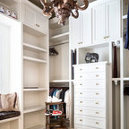 exciting dc ranch residence hallway interior design idea scottsdale az | Master Closet Hers' - Mediterranean - Closet - Phoenix ...