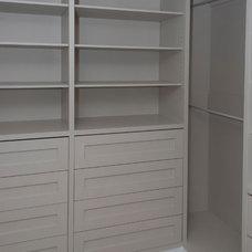 Contemporary Closet by Seva Rybkine
