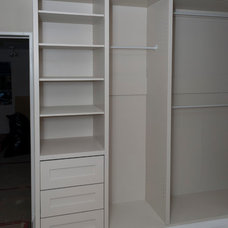 Contemporary Closet by Seva Rybkine