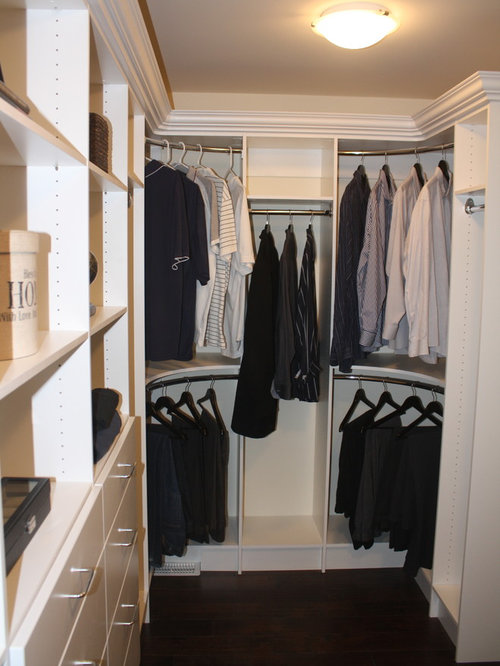 Curved Closet Rod Houzz