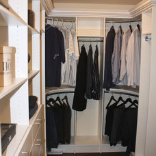 Traditional Closet by Toronto Custom Concepts