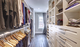 Toronto custom master bedroom walk-in closet