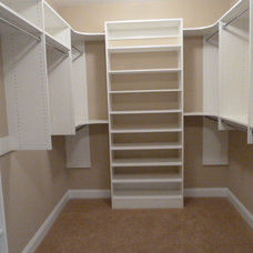 Traditional Closet by Total Organizing Solutions