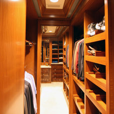 Traditional Closet by CBI Design Professionals, Inc.