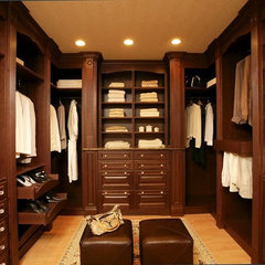 traditional closet by Dalia Kitchen Design