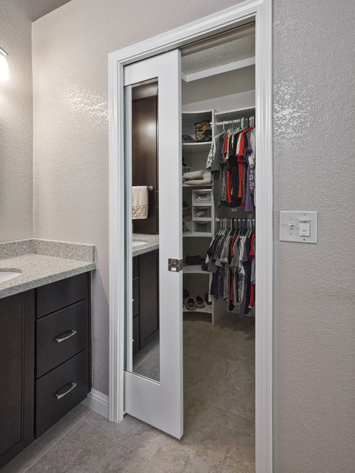 Pocket Door Mirror Home Design Ideas, Pictures, Remodel and Decor