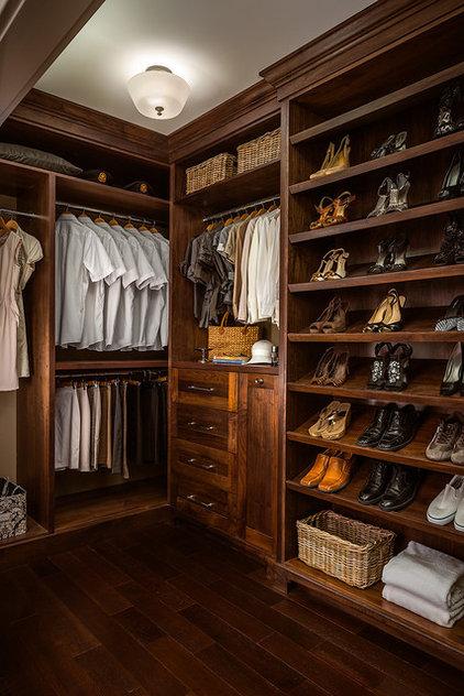 Traditional Closet by Joshua Lawrence Studios INC