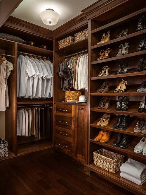 Organizing A Walk In Closet Houzz
