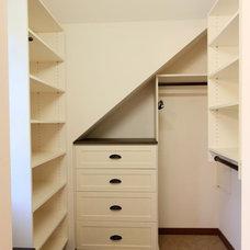 Traditional Closet by Ridge Construction LLC