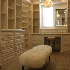 Traditional Closet by squarefoot interior design