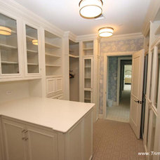 Traditional Closet by Trim Team NJ