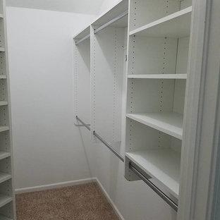 Traditional White Bedroom Closet in Jacksonville, FL