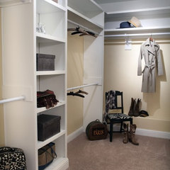 traditional closet by Adrienne Elliott Designs