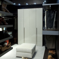 eclectic closet by Tongue & Groove