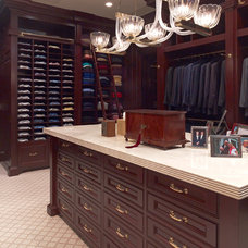 Traditional Closet by Larry E. Boerder Architects