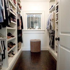 Traditional Closet by Gulfshore Design