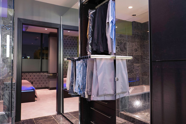 Elegant Modern Closet by The Phoenix Photography