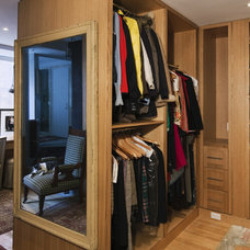 Eclectic Closet by Mabbott Seidel Architecture