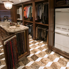 Traditional Closet by RVP Photography