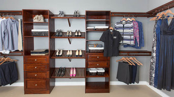 Using Our Newest Solid Ash Wood In Closets & Pantries