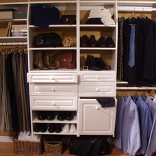 Traditional Closet by STOR-X Vancouver