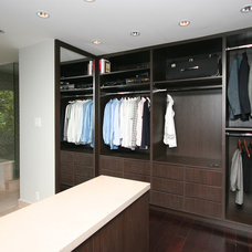 Contemporary Closet by oomph design inc.