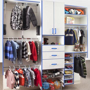 Versatile Reach-In Closet