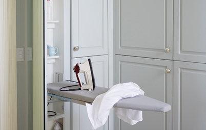 11 sätt att maxa förvaringen i tvättstugan