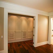 Craftsman Closet by Maximilian Huxley Construction