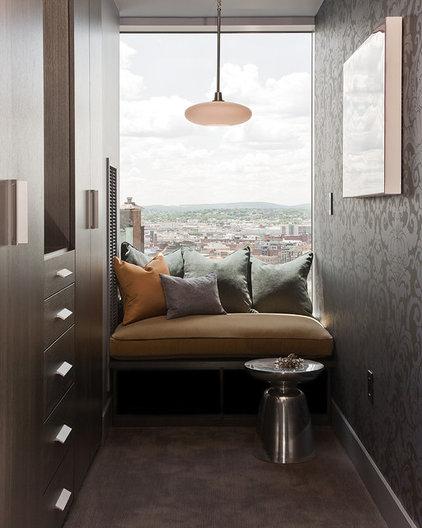 Contemporary Closet by Terrat Elms Interior Design