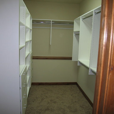 Knee Wall Storage Closets Design Ideas Pictures