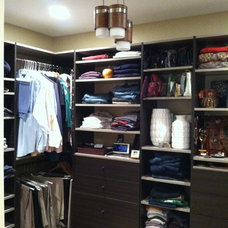 Contemporary Closet by Alyson Bell @ Home Staging & Decor