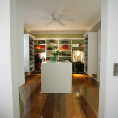 contemporary closet by ardel claveria